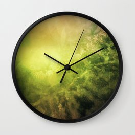 SUNRISE IN LOST SPACE Wall Clock