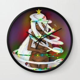 Shapeshifter Won't morph into a x-mas tree Wall Clock