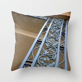 Metal Design Throw Pillow