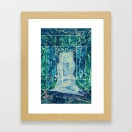 Microcosmicorbit Framed Art Print