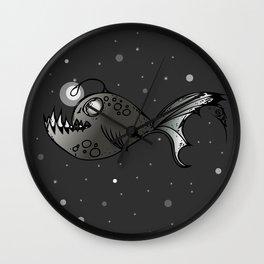 Lantern Fish Wall Clock