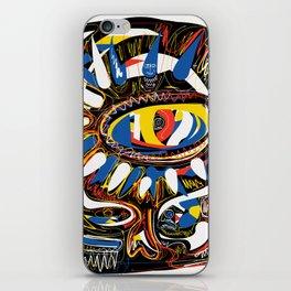 The Third Eye Primitive African Art Graffiti iPhone Skin