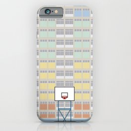 Hong Kong Choi Hung Estate, Wong Tai Sin District, Kowloon Basketball Court iPhone Case