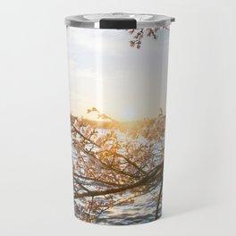 Sun Over the Horizon Travel Mug