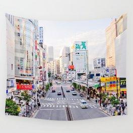 Shinjuku forever Wall Tapestry