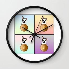 Luna & Ethereum Wall Clock
