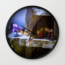 """""""Engage The Enemy!!!"""" Wall Clock"""