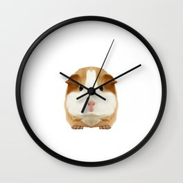 Guinea Pig I Love My Rodent Wheek Gift Idea Wall Clock