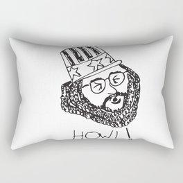 Ginsberg's HOWL Rectangular Pillow