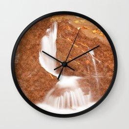 Vintage Velvet Waterfall Wall Clock
