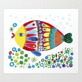 Fish3 Art Print