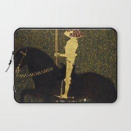 Gustav Klimt - Golden Rider Laptop Sleeve