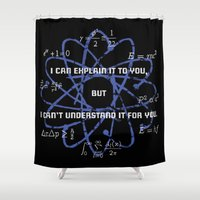 dream theory Shower Curtains featuring Theory by Astrablink7