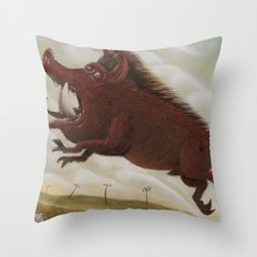 Ave Satani 2 Throw Pillow