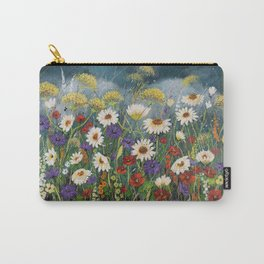 Stormy field. Carry-All Pouch