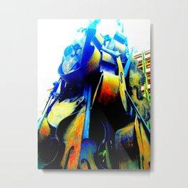 Technicolor Cellos  Metal Print
