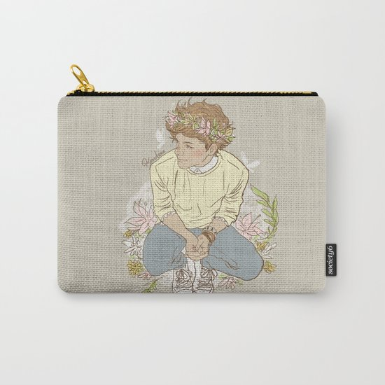 """ The Sun-Kissed Boy "" Carry-All Pouch"