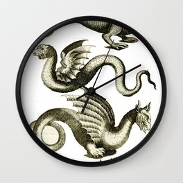 Serpents Wall Clock