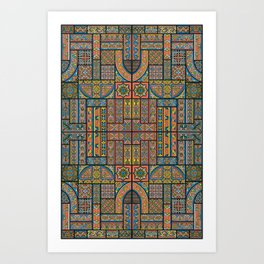 Middle Ages 2 Art Print