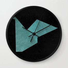 Fold  Wall Clock
