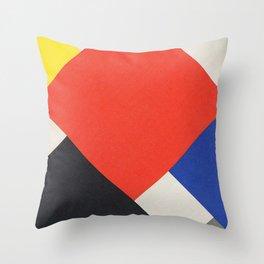 Counter Composition V (High Resolution) Throw Pillow
