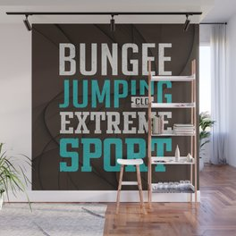 Bungee Jumping Extreme Sport Wall Mural