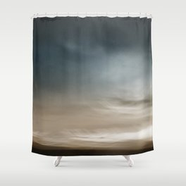 Dreamscape #11 - Abstract Landscape Shower Curtain