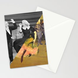 Henri Toulose Lautrec's Dance at Moulin R. & Ginger Rogers Stationery Cards