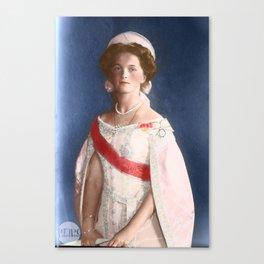 Olga Romanov - 1910 Formal Canvas Print