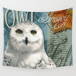 The Snowy Owl Journal Wall Tapestry