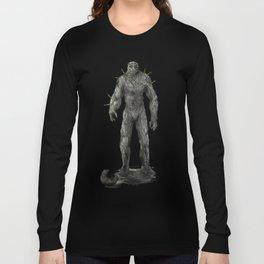 Jewish stone Golem Long Sleeve T-shirt