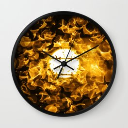 SUN BURST. Wall Clock