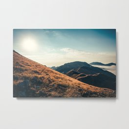 Mountains in the background XXIII Metal Print