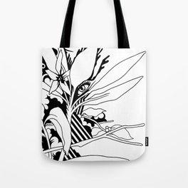 eye & leaf Tote Bag