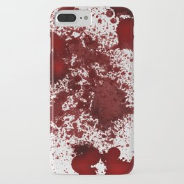 Blood Stains iPhone Case