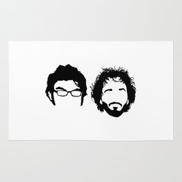 Flight of the Conchords Rug