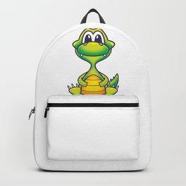 Crocodile Cartoon Fun Backpack
