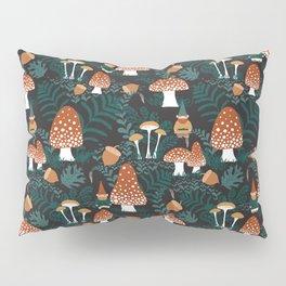 Mushroom Forest Gnomes Pillow Sham