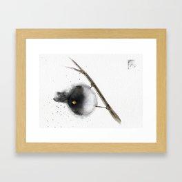 Junco Birdie Framed Art Print