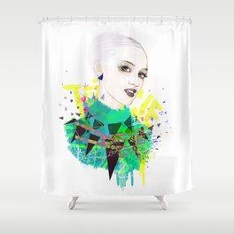 FASHION ILLUSTRATION 5 Shower Curtain
