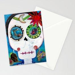 Maite´s skull Stationery Cards