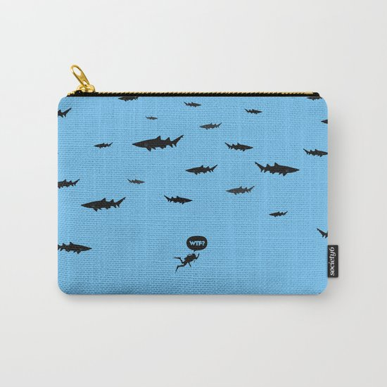 WTF? Tiburones! Carry-All Pouch