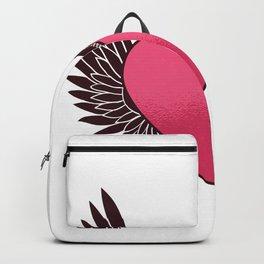 Heart Zipper Backpack