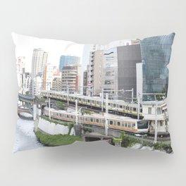 Ochanomizu Trains Pillow Sham