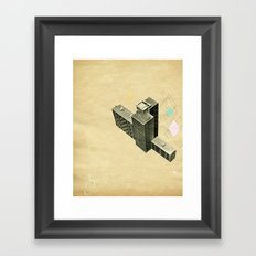 The Modern World Framed Art Print