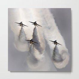 Aerobatic display Metal Print