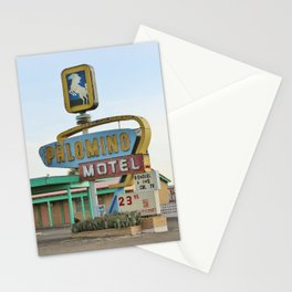 Route 66 - Palomino Motel Stationery Cards