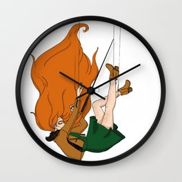 Puppet to society Wall Clock