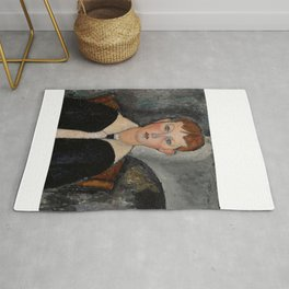 "Amedeo Modigliani ""Boy in Sailor Suit"" Rug"