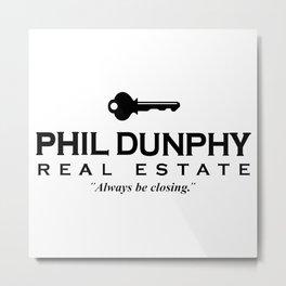 phil dunphy real estate Metal Print